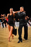Viktor Burchuladze & Kateryna Kozma at Austrian Open Championships 2012