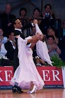 Simone Segatori & Annette Sudol at German Open 2010