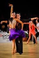 Timur Imametdinov & Ekaterina Nikolaeva at Austrian Open Championships 2012