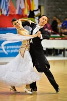 Sergei Belozerov & Ekaterina Belozerova at 2012 WDSF Professional Championship