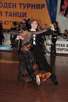 Igor Ammosov & Lyubov Vasileva at Burgas Open 2008