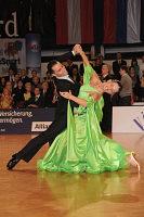 Luca Bussoletti & Tjasa Vulic at Austrian Open Championshuips 2008