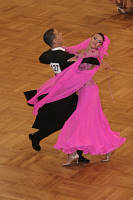 Marco Lustri & Alessia Radicchio at German Open 2007