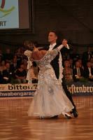 Benedetto Ferruggia & Claudia Köhler at German Open 2007