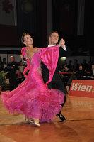 Benedetto Ferruggia & Claudia Köhler at Austrian Open Championshuips 2008