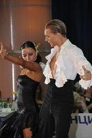 Troels Bager & Ina Ivanova Jeliazkova at Burgas Open 2008