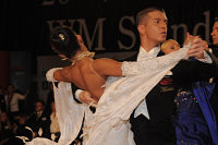 Misa Cigoj & Alexandra Malai at Austrian Open Championshuips 2008