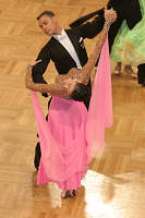 Luca Rossignoli & Veronika Haller at German Open 2007