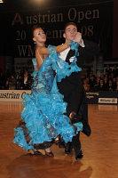 Azer Ashrafov & Olga Tovstashova at Austrian Open Championshuips 2008