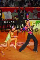 Emanuele Soldi & Elisa Nasato at Spanish Open 2006