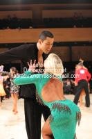 Rachid Malki & Anna Suprun at UK Open 2012