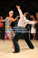 Michal Malitowski & Joanna Leunis at UK Open 2012