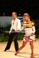 Riccardo Cocchi & Yulia Zagoruychenko at UK Open 2012