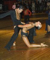 Justas Kucinskas & Agne Malinauskaite at Imperial 2006