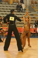 Sergiu Luca & Katarina Vuletic at Tactus Open 2007