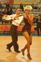 Péter Császár & Andrea Illés at Tactus Open 2007