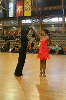 Dino Alic & Dina Imamovic at Tactus Open 2007