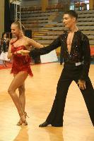 Miha Vodicar & Nadiya Bychkova at Tactus Open 2007
