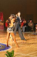 Ervin Muratspahic & Lejna Karic Lubarda at B&H National Latin Championships