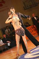 Dzenan Jahic & Anja Imamovic at B&H National Latin Championships