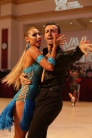 Marc Jimenez Blanch & Valeryia Urymahava at Blackpool Dance Festival 2018