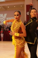 Yang Hang & Yan Yan Yanise Choy at Blackpool Dance Festival 2018