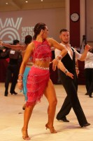 Artem Klimenov & Giulia Nuzio at Blackpool Dance Festival 2018