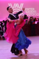 Ivan Iacobbe & Ylenia Dalla Bona at Blackpool Dance Festival 2018