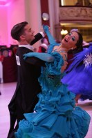Joe Johnson & Eva Johnson at Blackpool Dance Festival 2018