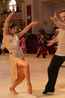 Kevin Baccanale & Darya Palishchuk at Blackpool Dance Festival 2018