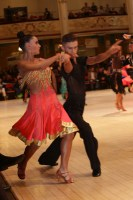 Daniele Canepone & Sofia Canepone at Blackpool Dance Festival 2018