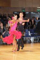 Anton Lam-Viri & Anastasiya Savinskaya at UK Open 2016