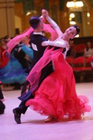 Oreste Alitto & Valeria Belozerova at Blackpool Dance Festival 2018