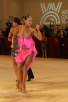 Argiris Argiropoulos & Ann Jajanidze at Blackpool Dance Festival 2018