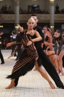 Kirill Dovzhik & Alicia Philips Bullock at Blackpool Dance Festival 2018