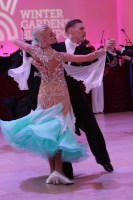 Yuriy Lioli & Oksana Berestova at Blackpool Dance Festival 2018