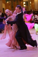Artem Martynov & Polina Figurenko at Blackpool Dance Festival 2018