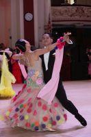 Elmer Fernando & Juliet Genio at Blackpool Dance Festival 2017