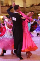 Mihai Cotos & Stephanie Leyden at Blackpool Dance Festival 2018