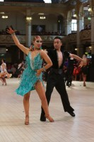 Oliver Chattwood & Amy Edwards at Blackpool Dance Festival 2018