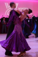 Miles Chapman & Stefania Vitacca at Blackpool Dance Festival 2018