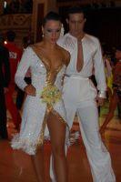 Andrea Silvestri & Martina Váradi at Blackpool Dance Festival 2011
