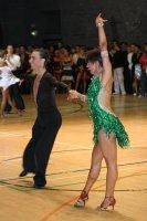 Stefan Green & Adriana Sigona at International Championships 2008