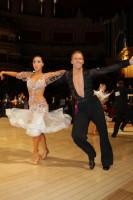 Neil Jones & Ekaterina Jones at International Championships 2012