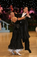 Dusan Dragovic & Ekaterina Romashkina at UK Open 2009