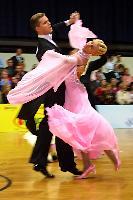 Domen Krapez & Monica Nigro at Austrian Open Championships 2004