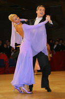 Domen Krapez & Monica Nigro at UK Open 2005