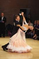 Domen Krapez & Monica Nigro at UK Open 2013