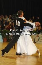 Domen Krapez & Monica Nigro at Austrian Open Championships 2003