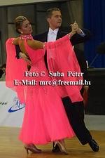 Domen Krapez & Monica Nigro at IDSF European Standard Championships 2004